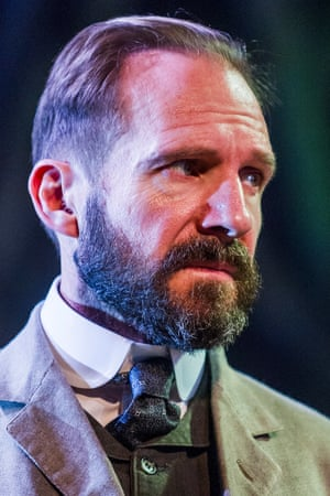 A dominating presence … Ralph Fiennes.