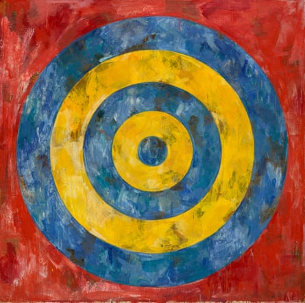 Johns's Target (1961), when his work was 'electrifying'