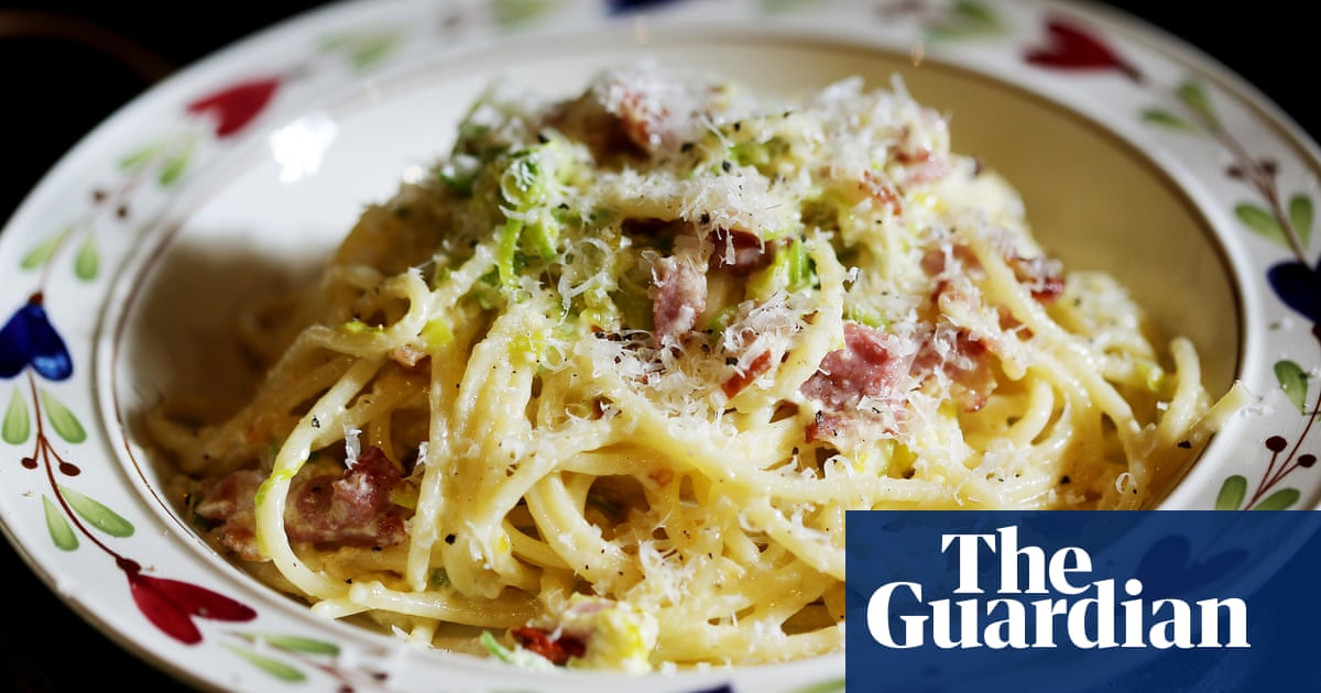 French Website Behind Panned Carbonara Recipe Paid By Italian Pasta