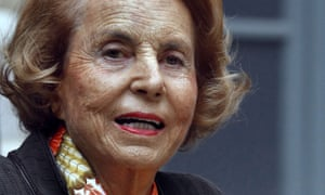 L'Oreal heir Liliane Bettencourt.