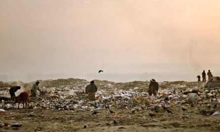 One of the city's rubbish dumps.