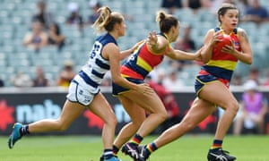 Adelaide v Geelong, AFLW preliminary final