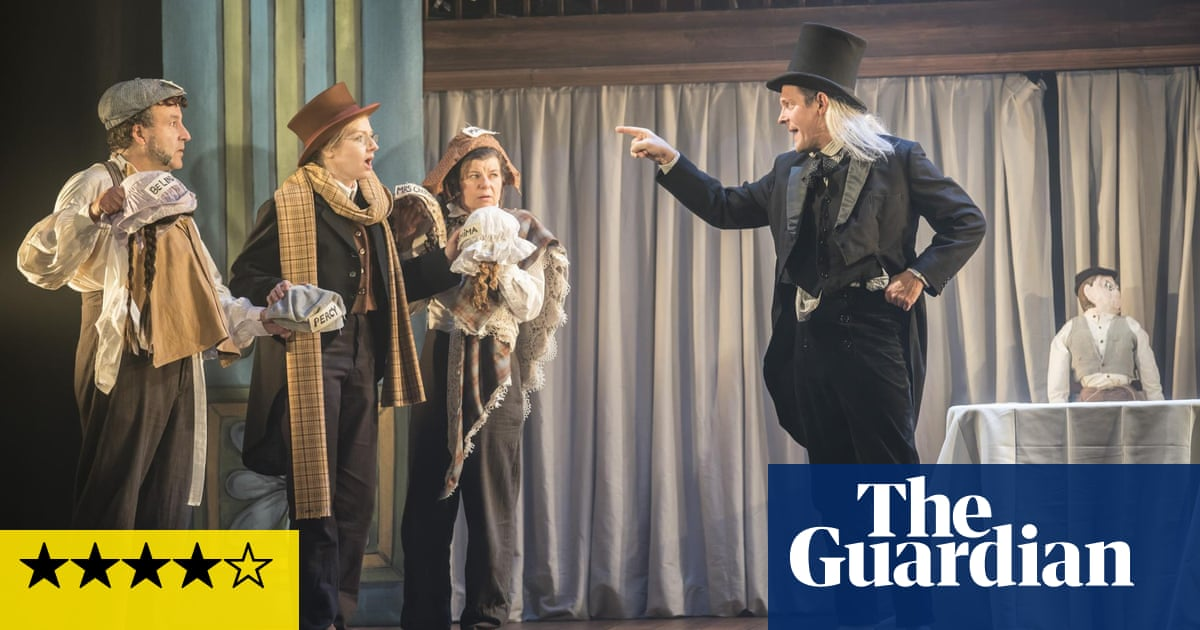 A Christmas Carol Review Riotously Silly Show Puts Scrooge In A