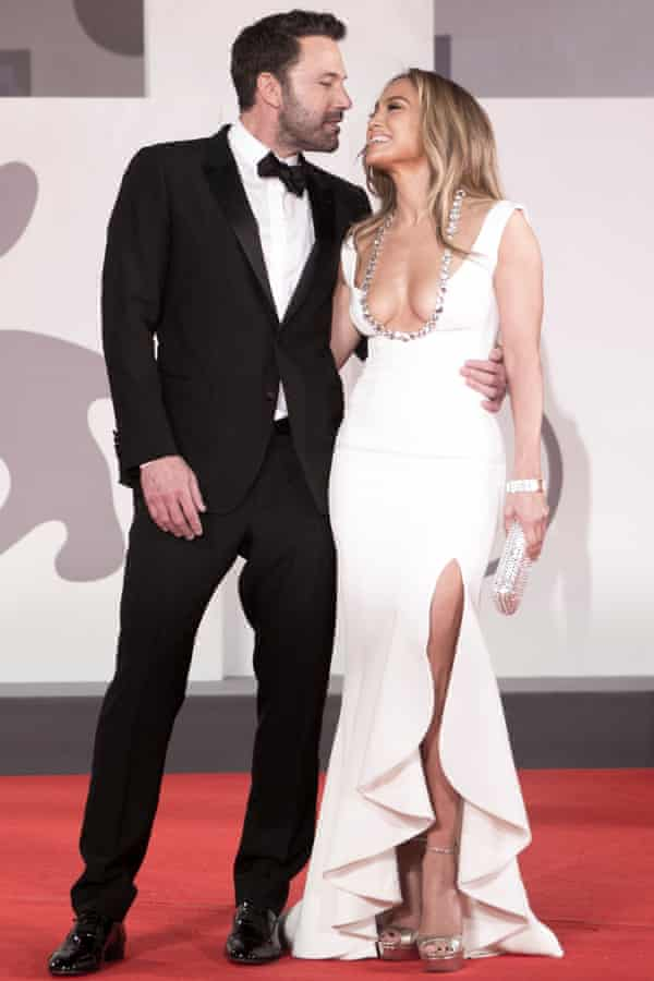 Ben Affleck and J-Lo on the red carpet