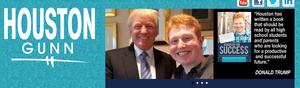 Trump with Houston Gunn.