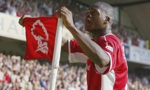 Marlon Harewood left Nottingham Forest for West Ham United in 2003.