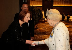 Julia Gillard and Queen Elizabeth