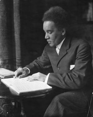 Composer Samuel Coleridge Taylor