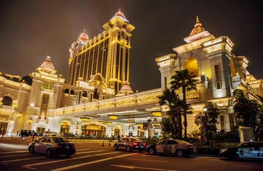 The city's modern face … the Galaxy Macau casino and hotel
