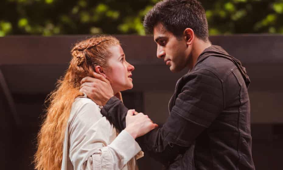 Karen Fishwick and Bally Gill as the leads in the RSC's Romeo and Juliet.