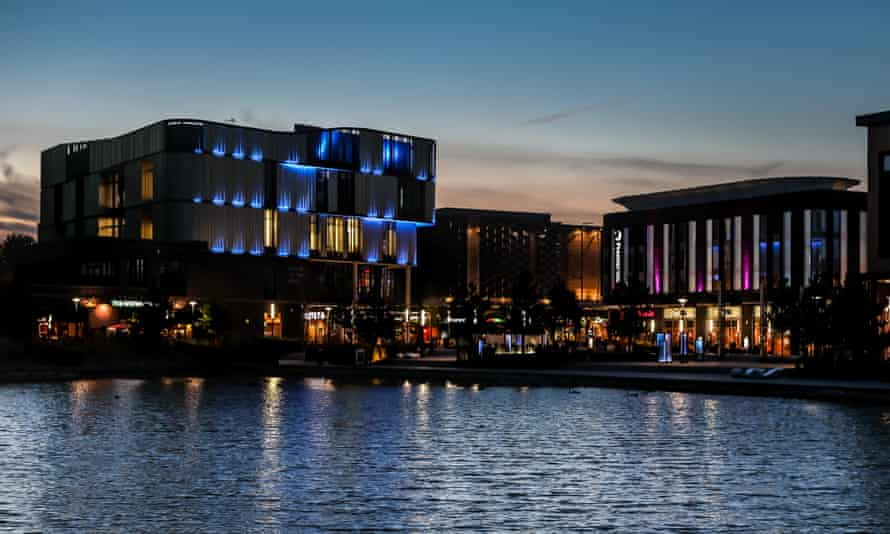 The Southwater Centre in Telford. 'The town has a shopping centre for a soul'