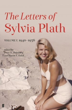 The UK cover of The Letters of Sylvia Plath.