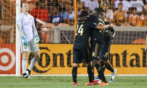 Los Angeles FC have ripped through opposing defenders this year.