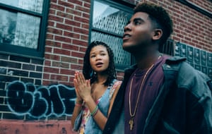 Storm Reid and the 'superb' Jharrel Jerome in When They See Us.