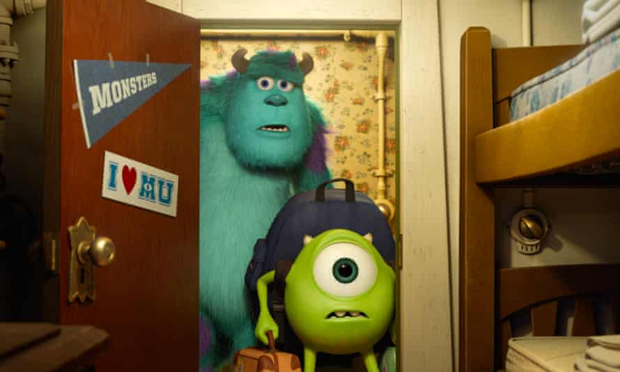Some monsters in Monsters University.