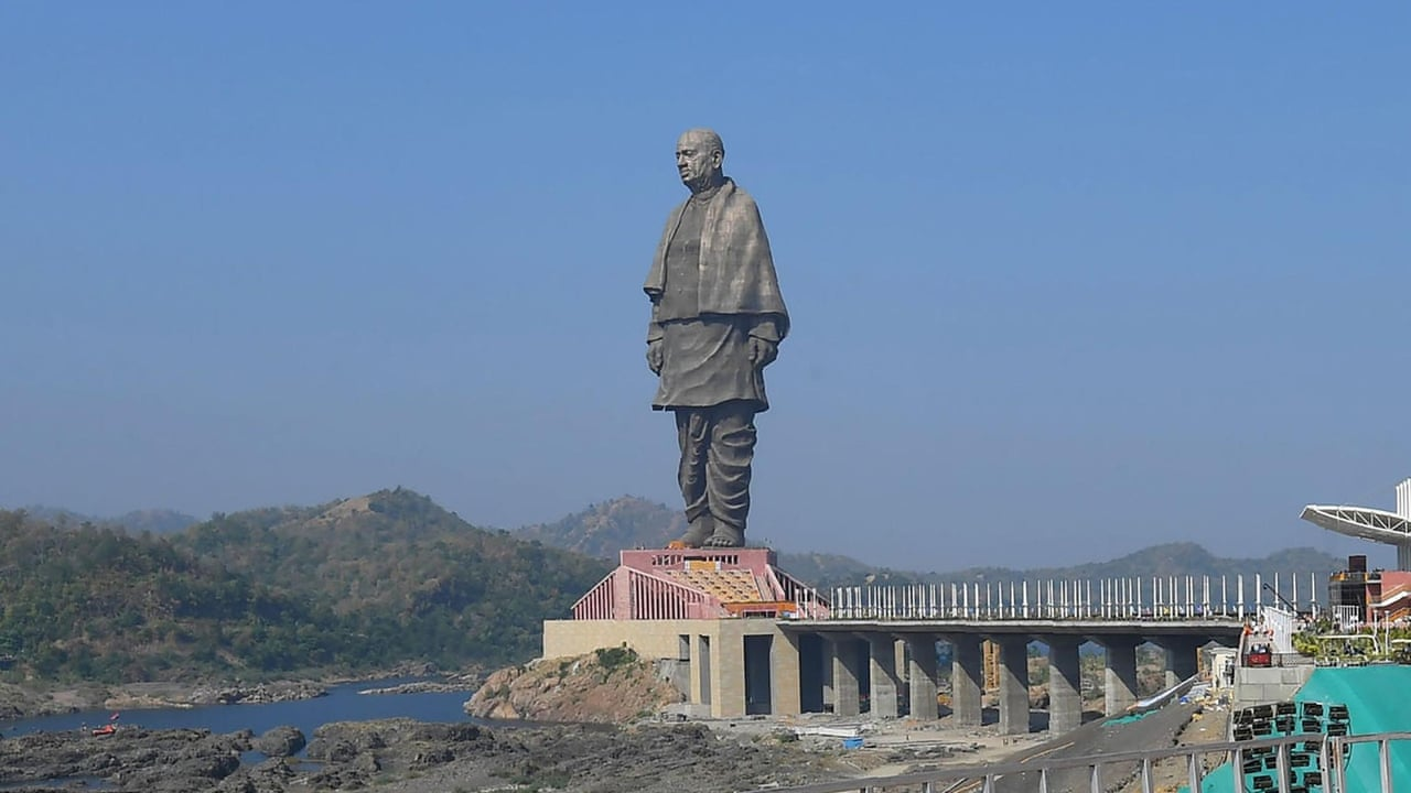 India unveils world's tallest statue - video report | World news | The  Guardian