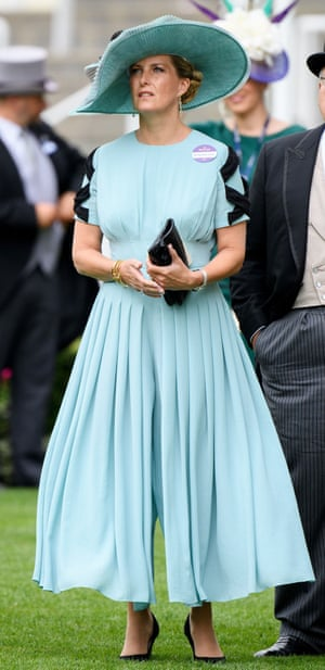 Sophie Countess of Wessex at Royal Ascot this week.