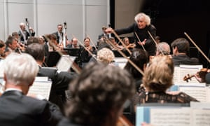 Crammed with detail … Simon Rattle and the Berline Philharmonic/The Asia Tour.