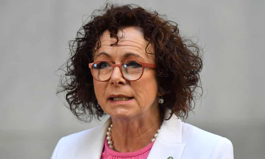 Nationals MP Anne Webster: 'I think we need to work very hard at changing the culture. Every decision we make to laugh at someone's innuendo, every decision we make to stand by and say nothing does not assist us.'