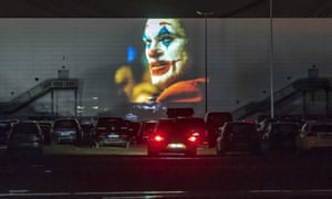 Social Distance Cinema Drive In Theatres Boom In Pictures World News The Guardian