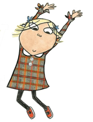 An illustration from Charlie and Lola.