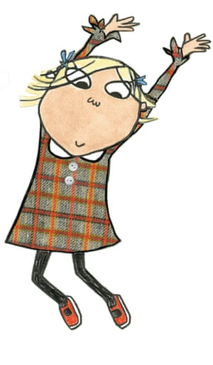 Lola in the Charlie and Lola books.