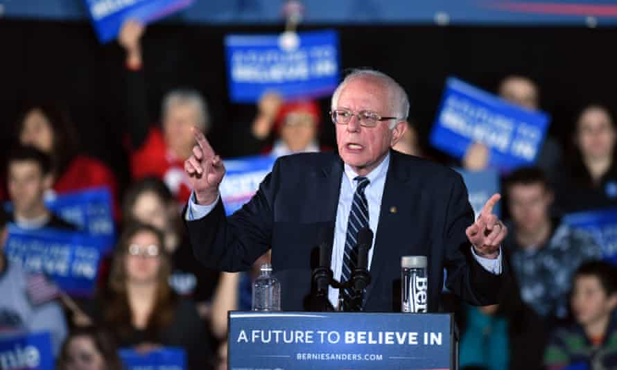 Bernie Sanders was neck and neck with Hillary Clinton in this week's Iowa caucus.