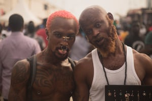 Chale Wote Festival street style Credit: Stephen Tayo