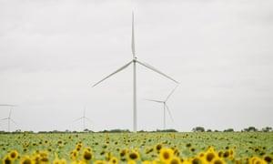 Hidalgo Wind Farm in McCook, Texas