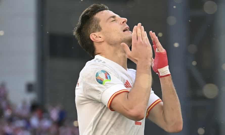 César Azpilicueta scored his first international goal against Croatia in Spain's 5-3 extra-time win.
