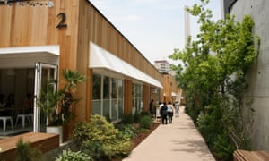 Log Road, Daikanyama, is Tokyo's new green space, and is being compared with New York's High Line.