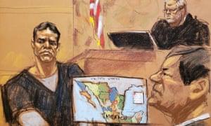 El Chapo v El Vicentillo: son of cartel's co-founder testifies