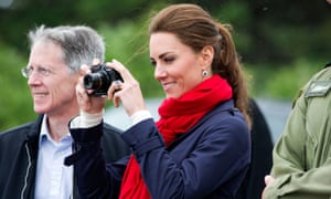 Shutterbug … the Duchess Of Cambridge on a tour of Canada in 2011.