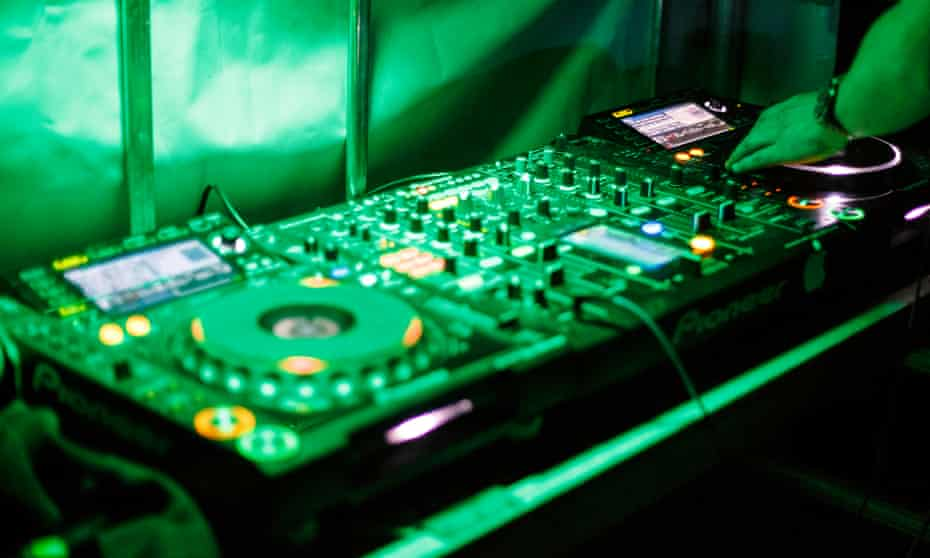Two European DJs played at the party on Friday as part of a music festival near the popular resort of Hammamet.