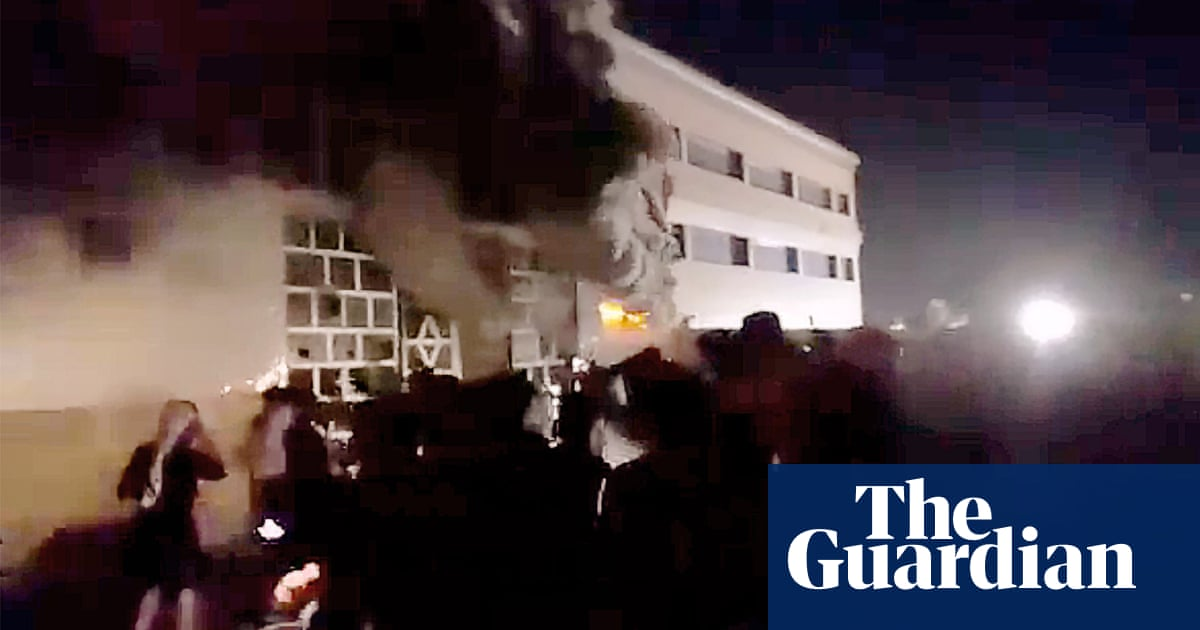 Dozens die after fire in Covid isolation ward at hospital in southern Iraq