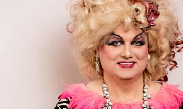Scot Free, who performs in drag as Pippi Lovestocking, was among Egg's neighbors.