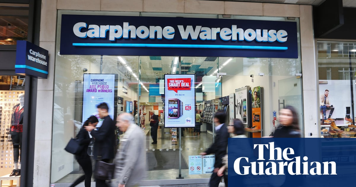 Carphone Warehouse To Shut 92 Stores Amid Profits Warning