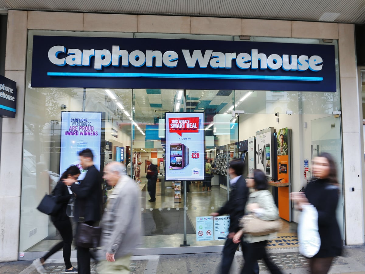 Carphone Warehouse to shut 92 stores amid profits warning | Business | The Guardian