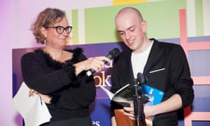 Andrew McMillan reads a poem at the 2015 ceremony from Physical, the first poetry book to win the prize. Claire Armitstead helps with the sound.