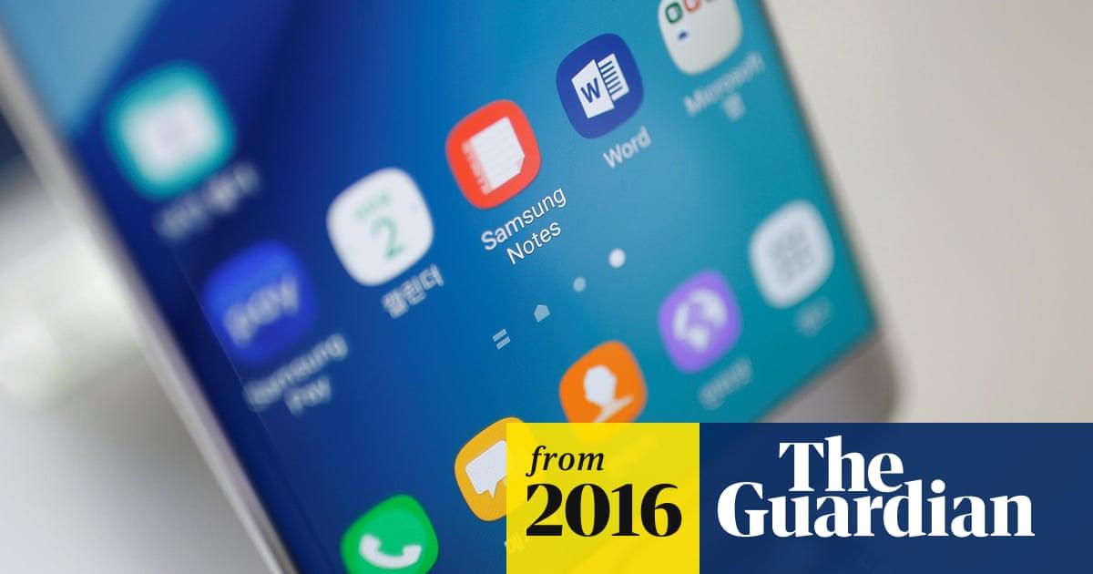 Samsung suspends sales of Galaxy Note 7 after smartphones