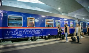 Austria's Nightjet train