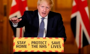 Lack Of Logic In Boris Johnson S Claims On Lockdown And Coronavirus Peak Letters World News The Guardian