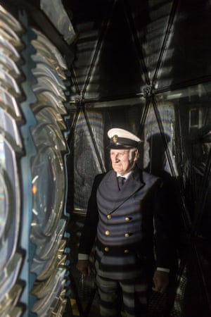 Billy Muir in North Ronaldsay lighthouse