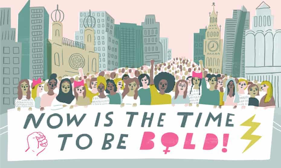 Sarah Walsh - women's march