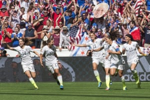What a start for USA. They're quite rightly thrilled with themselves.