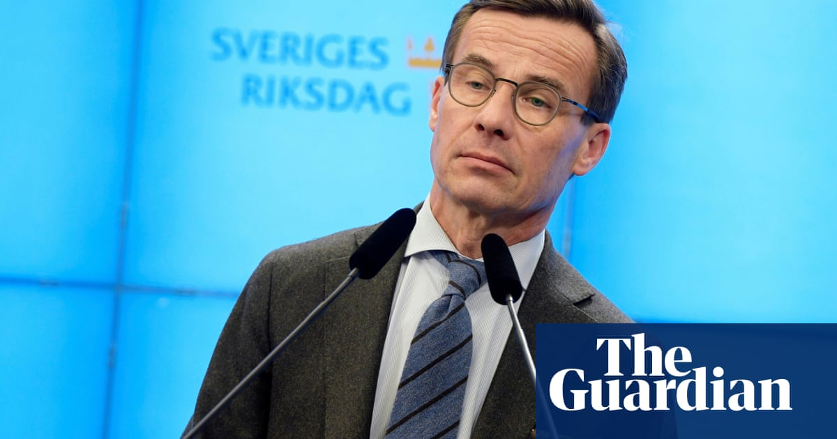 Swedish opposition leader tasked with forming new government