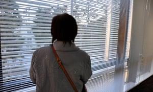 'Junko Iizuka', who says she was forcibly sterilised.