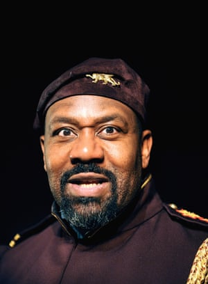 Lenny Henry as Othello at the West Yorkshire Playhouse, 2009