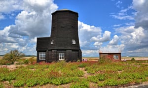 The Black Beacon can be climbed for great views of Orford Ness.