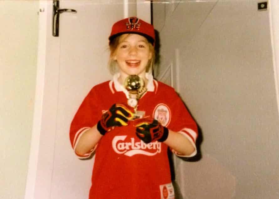 Hannah Jane Parkinson as a child